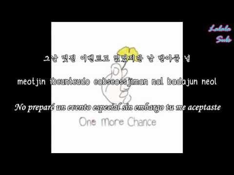 One More Chance- Think Of You (널 생각해) (Sub Español- Rom- Han)