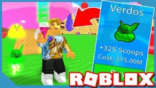 BUYING THE BEST DRAGON PET AND MAKING MILLIONS - ROBLOX ICE CREAM SIMULATOR