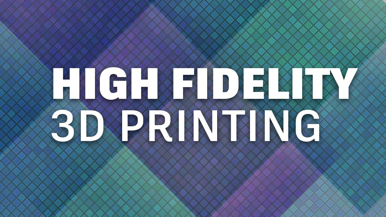 High-Fidelity 3D Printing Techniques by Richard Greene