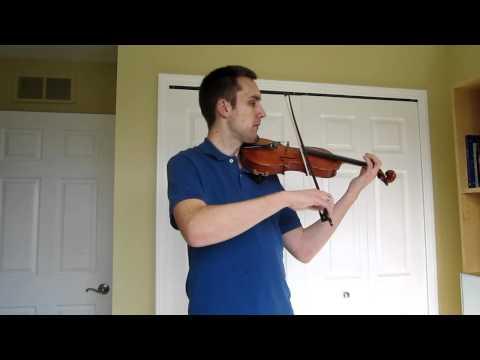 Dreidel Song Melody - Violin