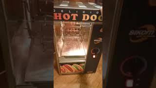 видео Гриль карусельный для хот-догов Sikom МК-1.22