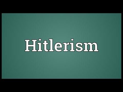 Header of Hitlerism