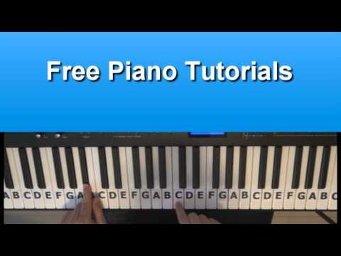 How To Play Rolling in the Deep by Adele On Piano - Tutorial