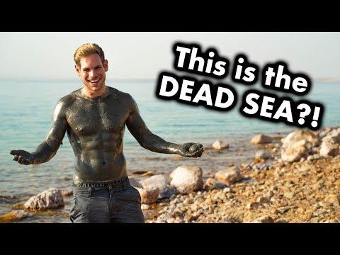 Floating in the DEAD SEA - Is it worth it? (Jordan)