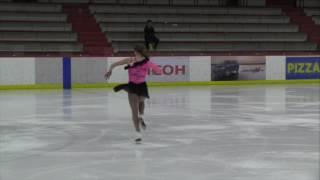 Anneke Johnston Pre-Novice SP Flight C - 2017 Calgary Winter Invitational