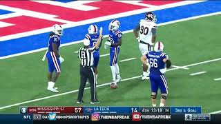 3rd and 93! MS State vs. LA Tech 2017