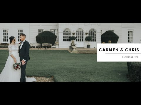 Gosfield Hall Wedding Video - Carmen and Chris