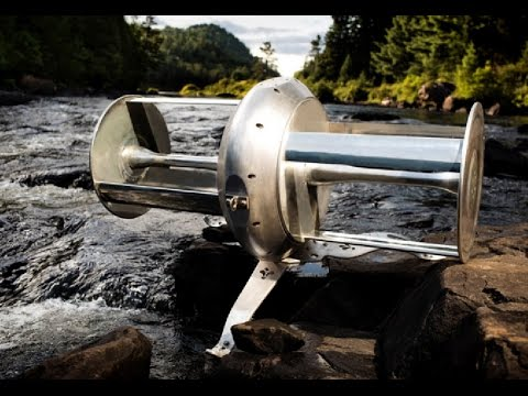 This Futuristic River Turbine Invention will Blow your mind