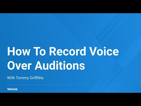 How to Record a Technically Perfect Voice Over Audition | Voices.com