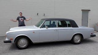 Вот обзор самого дорогого седана Rolls-Royce 1973 года