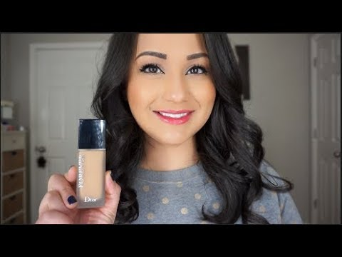 cf0387ee7f Dior Forever 24h Wear High Perfection Skin Caring Matte Foundation Review  and Demo