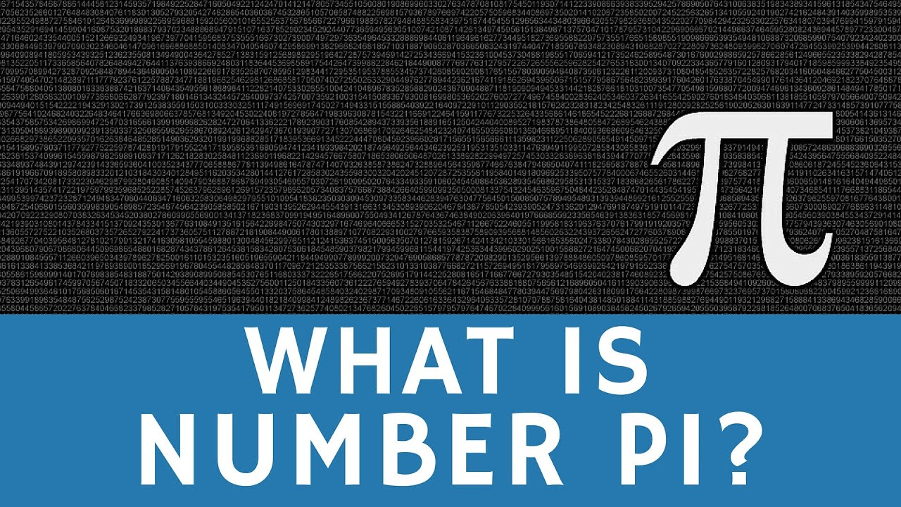What Is Number Pi 314 A Brief Overview Youtube