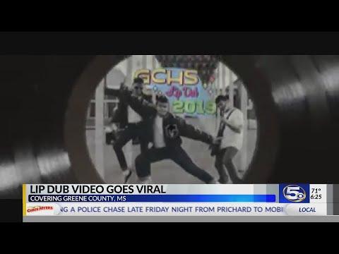 George County High School's lip dub through time goes viral