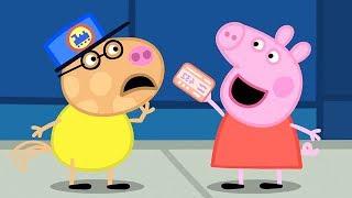 Peppa Wutz 🚂 Die Zugfahrt 🚂 Peppa Pig Deutsch Neue Folgen   Cartoons für Kinder