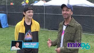 Darik Interviews Asher Angel At Kidtopia