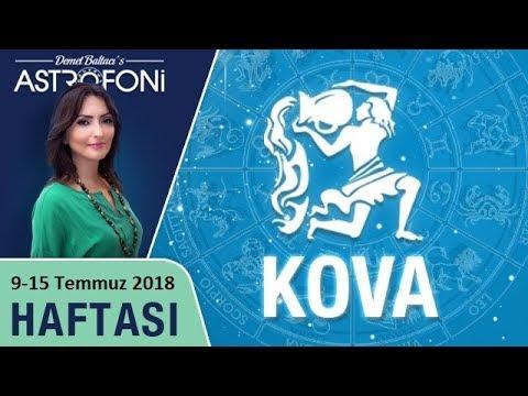 ♒  KOVA Burcu 9-15 Temmuz 2018 Haftalık Burç Yorumu, Demet Baltacı