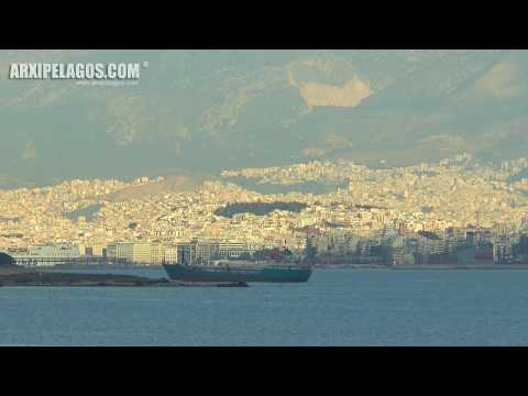 ELYROS - Passenger/Ro-Ro Cargo Ship (departure from Piraeus Port  IMO: 9178599