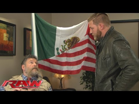 Jack Swagger Konfrontiert Zeb Colter: Raw – 2. November 2015