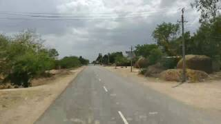 Road trip from Siruguppa to Sindanur-Karnataka : OnePlus 3T video recording