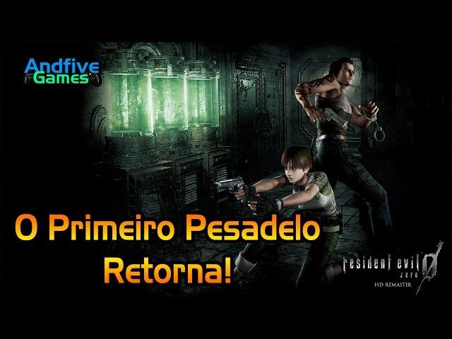 Resident Evil Zero HD Remaster : O Primeiro Pesadelo Retorna