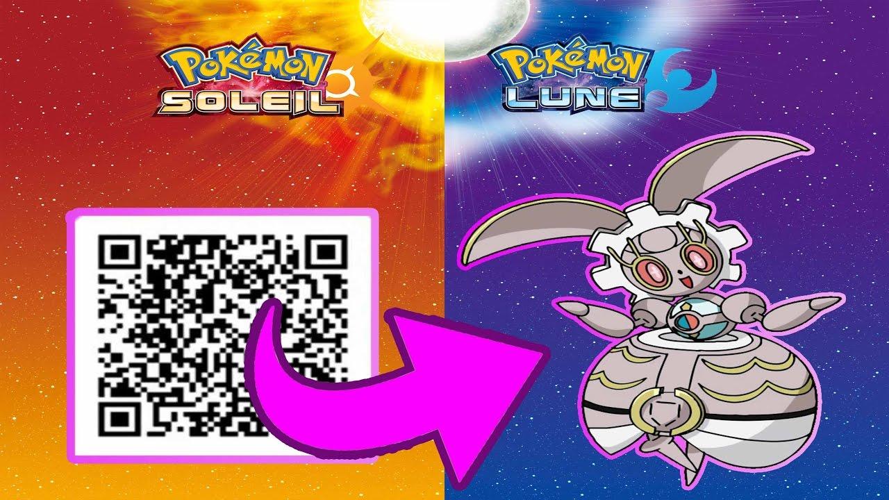 Magearna Offert Dans Pokemon Lune Amp Soleil Qr Code Europe Youtube