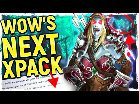 SHADOWLANDS: WoW's Next Expansion LEAKED?! | BFA's WILD Ending, Helya's Pact, New Class & World!
