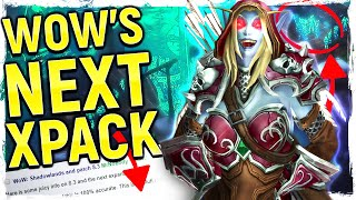 SHADOWLANDS WoW's Next Expansion LEAKED  BFA's W LD Ending Helya's Pact New Class And World