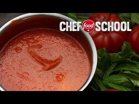 Make a Classic Marinara Sauce | Chef School