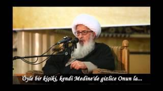 Ayetullah Horasani Baqi kabristanını ziyaret etmenin önemi.