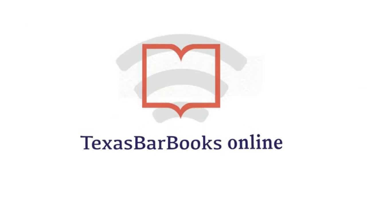 Texasbarbooks Online Demo Youtube