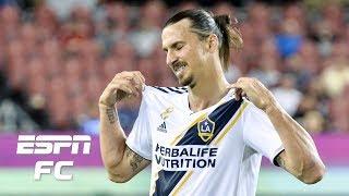 Zlatan Ibrahimovic scores 500th goal, LA Galaxy fall to Toronto FC | ESPN FC