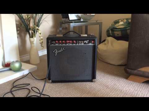 Fender Champ 12 USA quick demo with Fender Strat