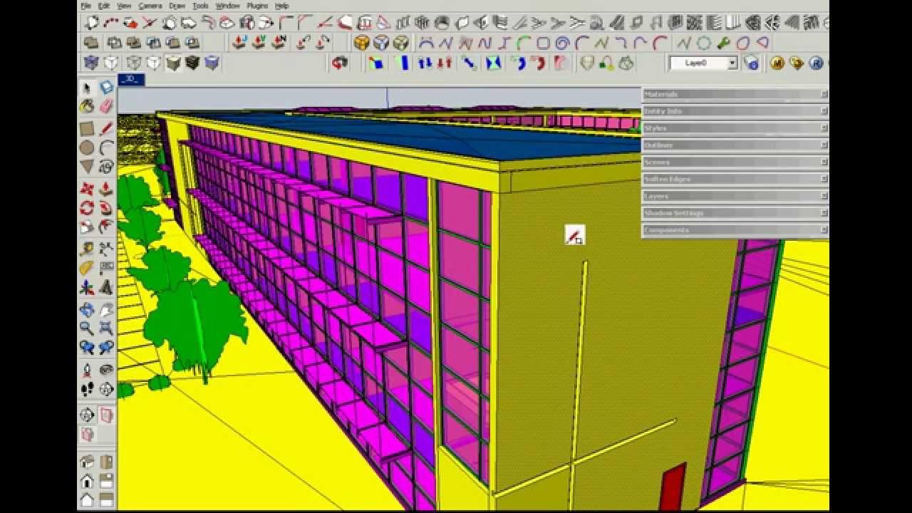 performance test model navigation revit sketchup autocad rhino 3d youtube. Black Bedroom Furniture Sets. Home Design Ideas