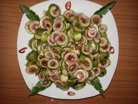Cách làm sung muối xổi _ Picked figs