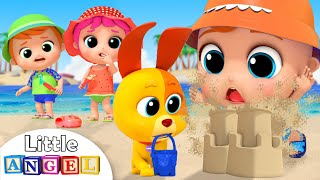 Playtime At the Beach & Swimming Song | Little Angel Nursery Rhymes