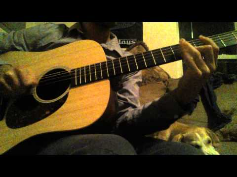 Acoustic song open C# minor tuning