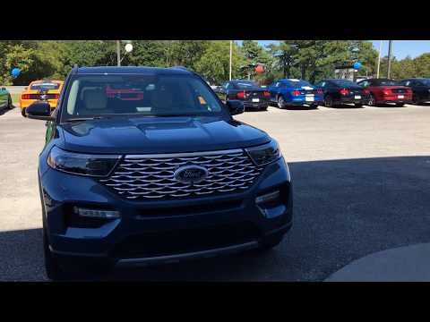 2020 Ford Explorer| Start up and review