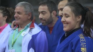 Refugee judo team take part in Budapest Grand Prix as Japan top medals
