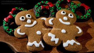 The BEST Gingerbread Men Cookies Recipe Ever