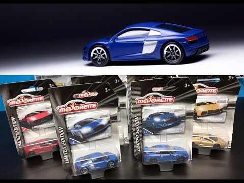 Lamley Showcase: The updated Majorette Audi R8 & the rest of Series 1 Limited Edition