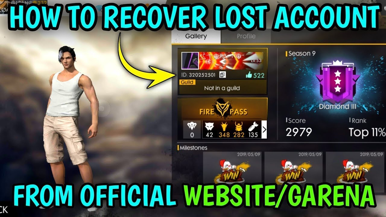 How To Recover Free Fire Account Facebook Or Guest 2020 Youtube