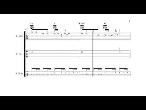 Mega Man 3 (NES) - Spark Man - Guitar/Bass Tabs + Chords