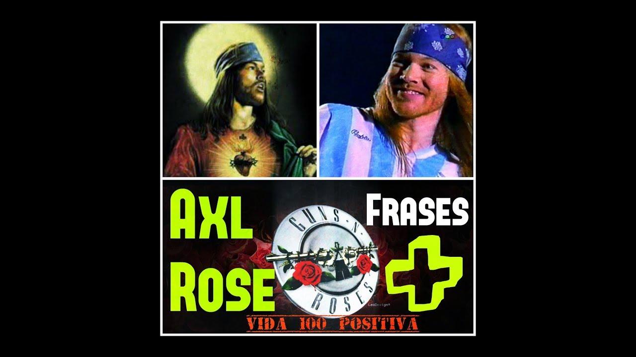 Arteestima Axl Rose Frases Positivascliplive Madagascar Subtitulado