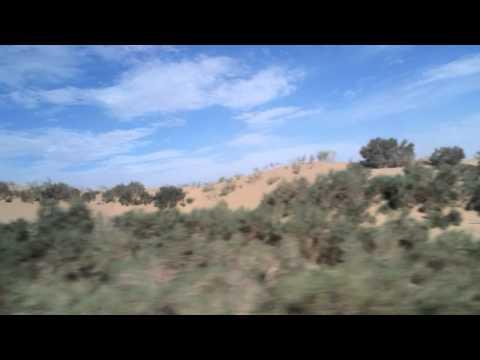crossing taklamakan desert from urumqi to hotan