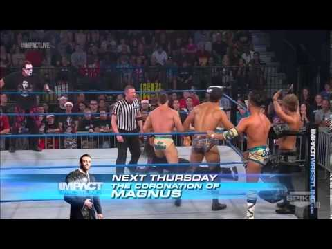 Jeff Hardy & Sting vs The BroMans, Ethan Carter III & Rockstar Spud
