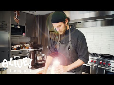Brad Makes Cultured Butter | Its Alive | Bon Appetit
