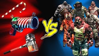 dead Trigger 2  All Christmas Weapons vs All Bosses