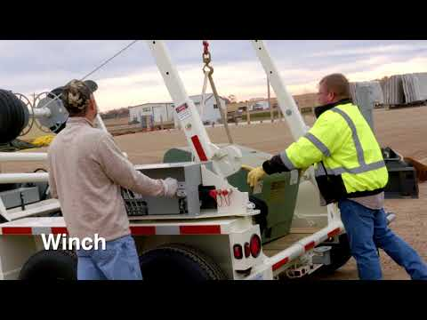 Larson Cable Trailers - Power Industry Uses