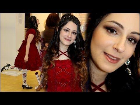 Vernissage Gothic Lolita Vlog ♡ ShantiLives