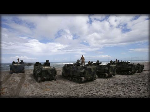 PHILIPPINES TO HOST U.S. IN MASSIVE SOUTH CHINA SEA MILITARY DRILLS
